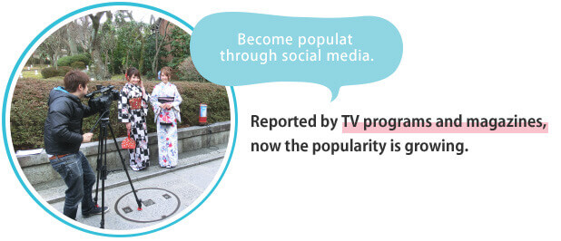 Become populat through social media.
