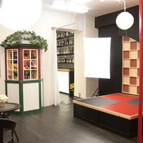 和の雰囲気に合った撮影スタジオ
