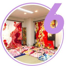 Cleaning kimono