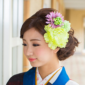 着物をレンタルして京都を散策