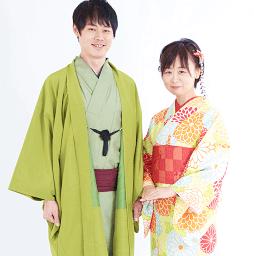 二人でレンタルできる京あるきの着物