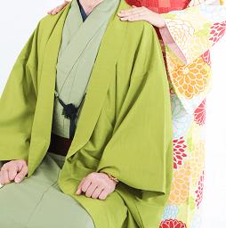 京あるきのカップルプランで予約できるレンタル着物画像