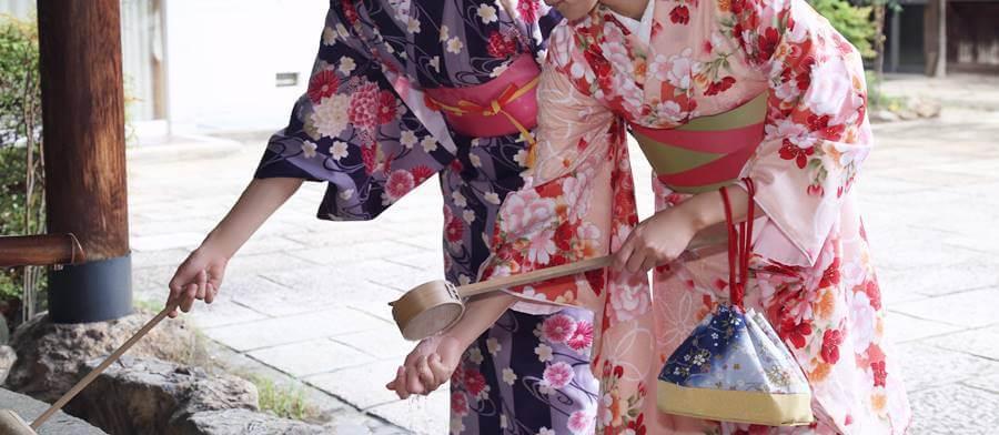 レンタル着物を着て団体で京都観光するなら京あるきがおすすめ!