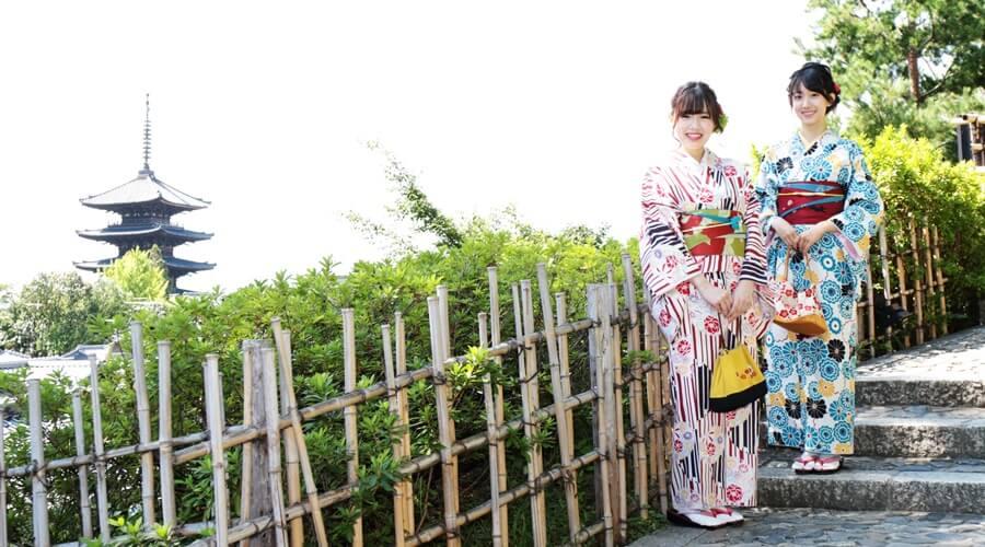 京都で人気の着物体験学習