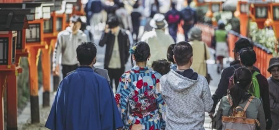京都旅行カップル
