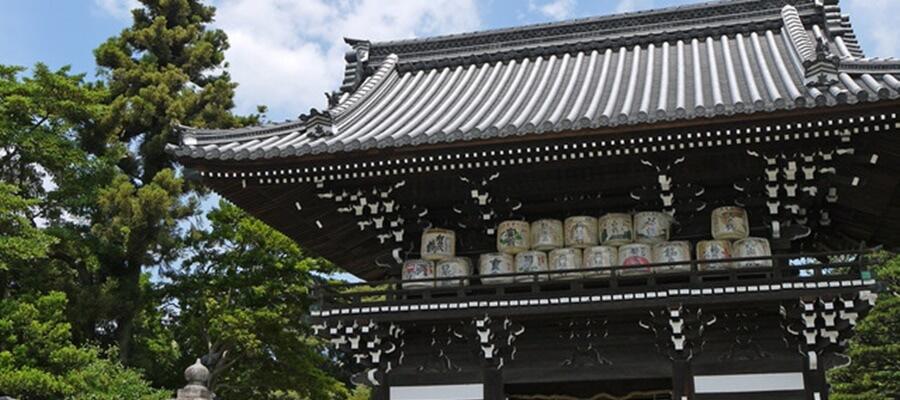 京都の梅宮大社で梅産祭を楽しもう