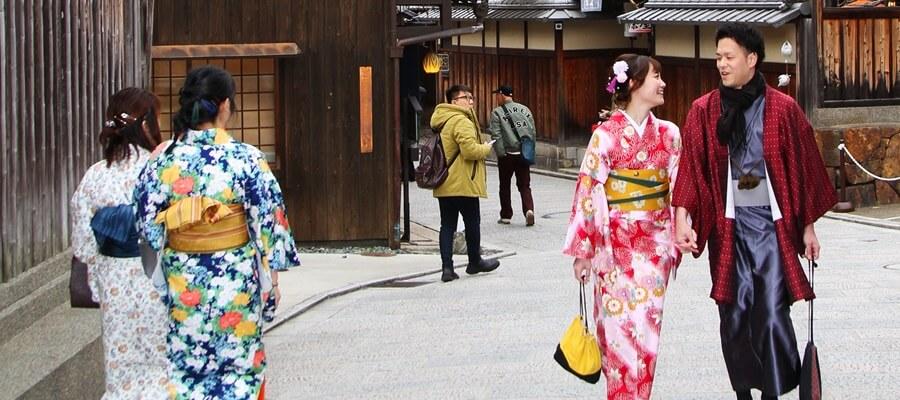 カップルにも人気の京都観光はロケ撮影もおすすめ